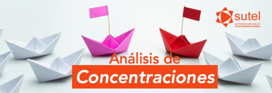 Análisis de concentraciones