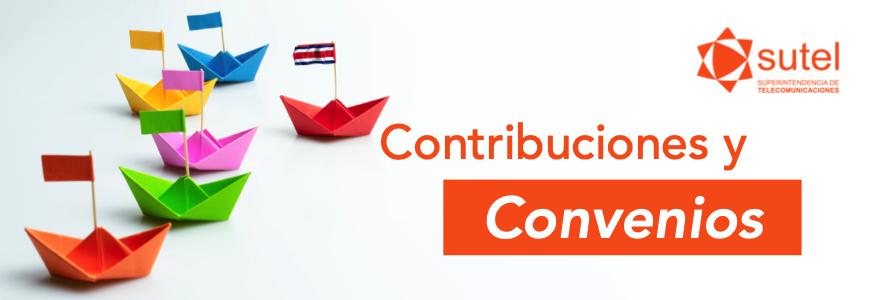 Contribuciones y Convenios Internacionales