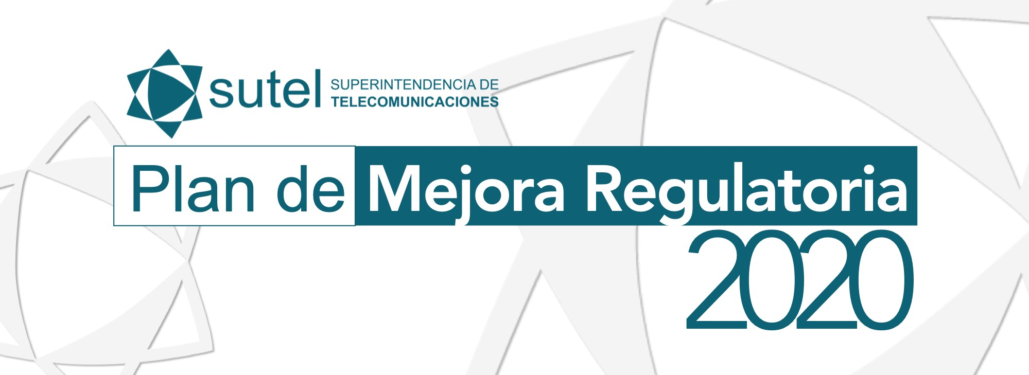 Plan de Mejora Regulatoria 2020
