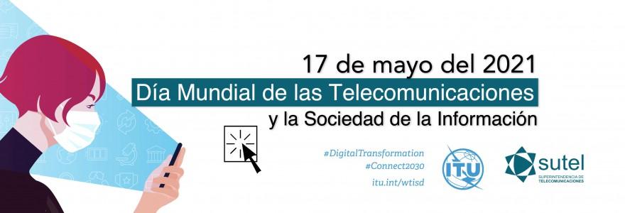 Banner 17 de mayo Día Mundial de las Telecomunicaciones
