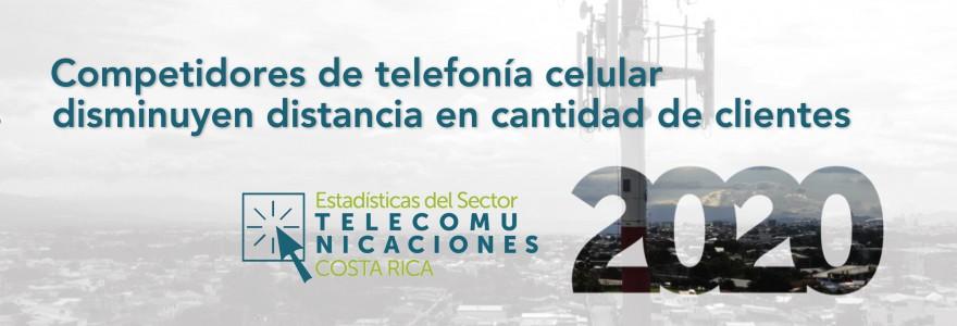 Banner Estadísticas Telecomunicaciones, Costa Rica 2020