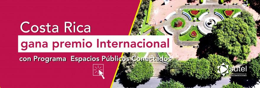 Banner Costa Rica gana premio internacional  con programa de FONATEL