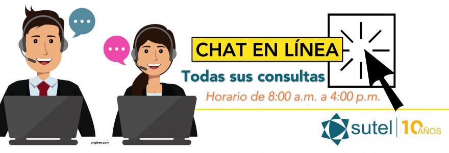 Chat en línea para consultas de Telecomunicaciones