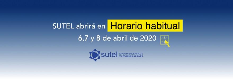 Horario Semana Santa 2020