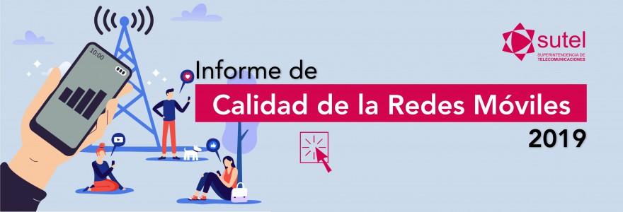 Banner Informe Calidad Redes Móviles 2019
