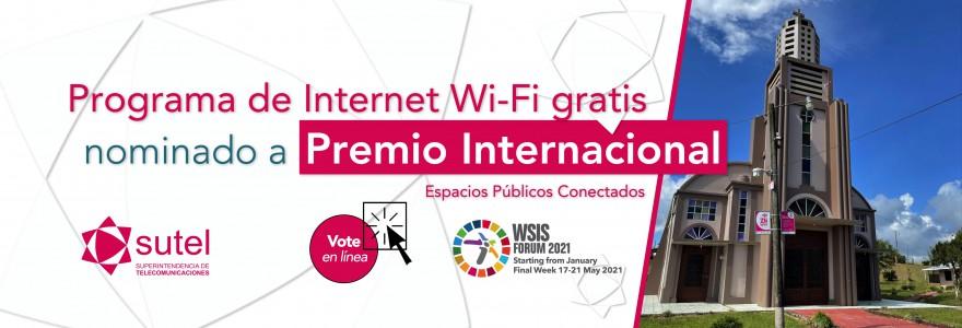 Usted puede votar en línea por el programa costarricense de Internet  Wi-Fi gratis