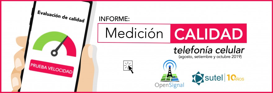 Banner Informe calidad redes celulares